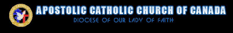 Apostolic Catholic Church Of Canada